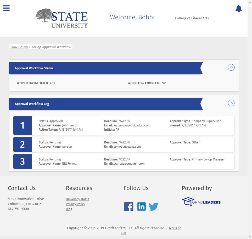Co Op Internship >> Co Op And Internship Management Module Gradleaders