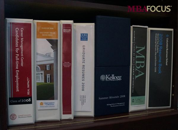 MBA Focus resume books